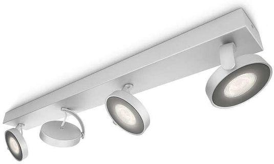 Philips Lampen Led : Spotlampe clockwork grau metall 4 lampen led philips